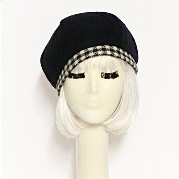 Wool beret hat